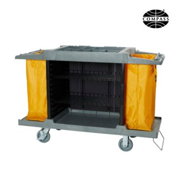 Compass Compact Open Front Housekeeping Trolley